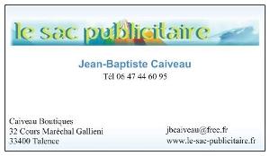 Caiveau Boutiques - Le Sac Publicitaire